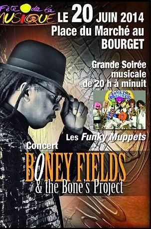 La fanfare funk en première partie de Boney Fields
