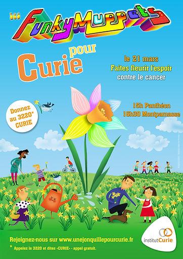 La fanfare funk à Une jonquille pour Curie 2015
