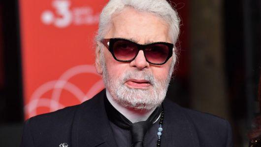 Morreu o Karl Lagerfeld
