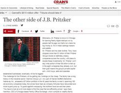 PG Crains JB Pritzker