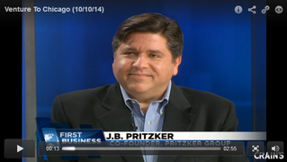 CRAIN'S CHICAGO: J.B. Pritzker -  Chicago's not 'flyover country' anymore