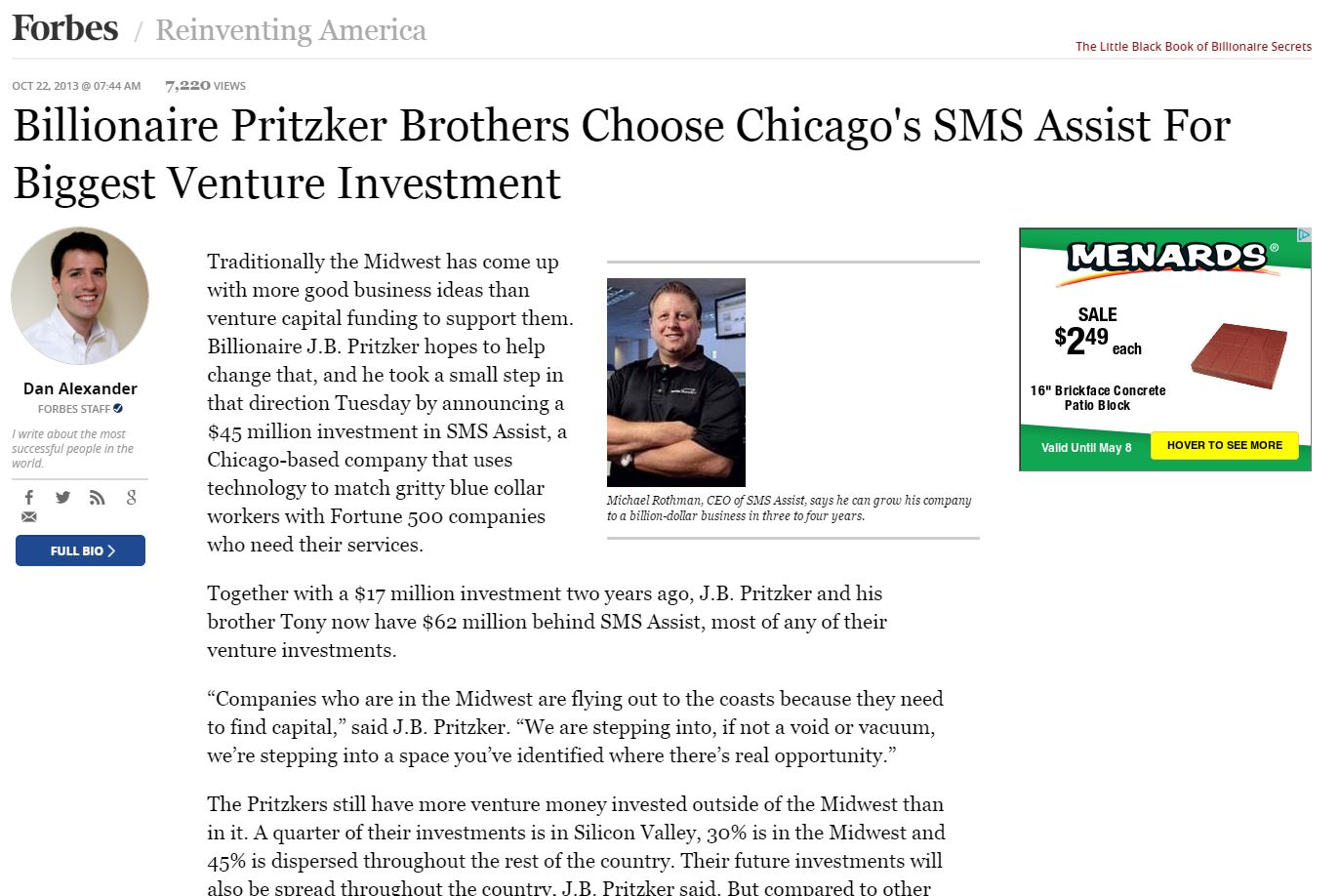 SMS Assist | Aileron Communications | Chicago Tech and