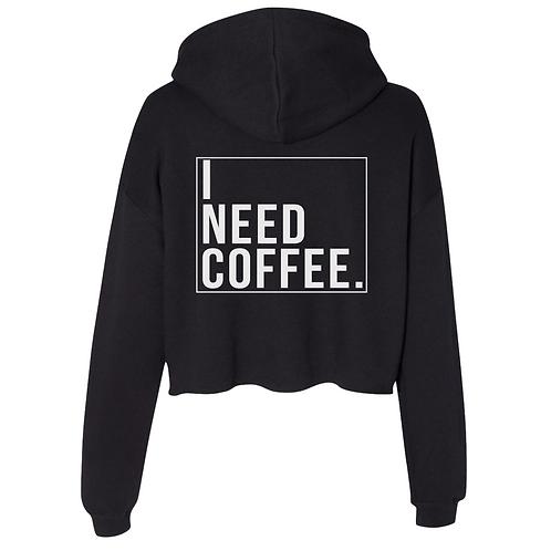 I Need Coffee Crop
