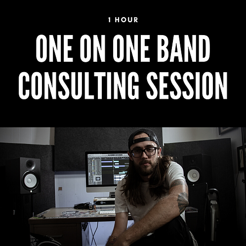 1 Hour | One on One Band Consulting Session
