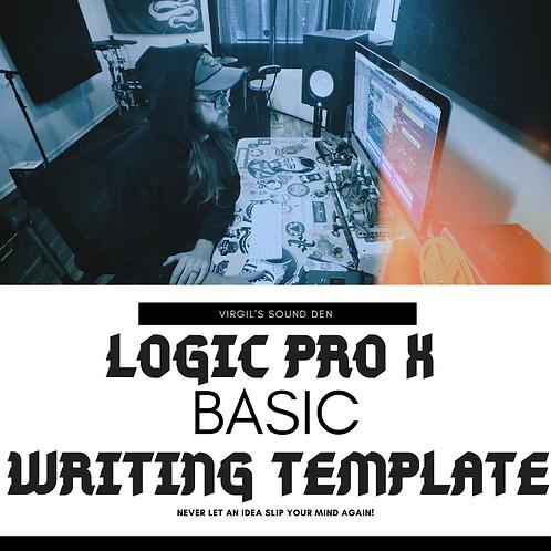 Logic Pro X Basic Writing Template