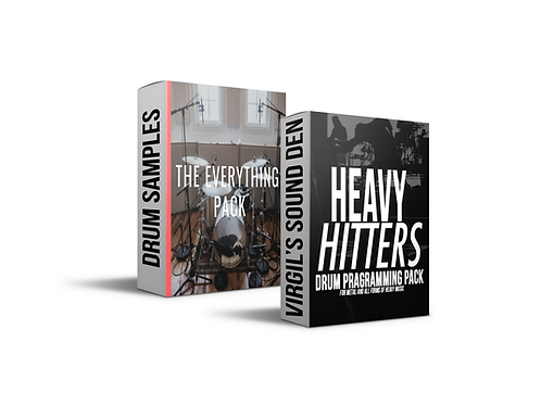 Heavy Hitter Drum Programming Pack AND BetterMIxes.com Sample Pack