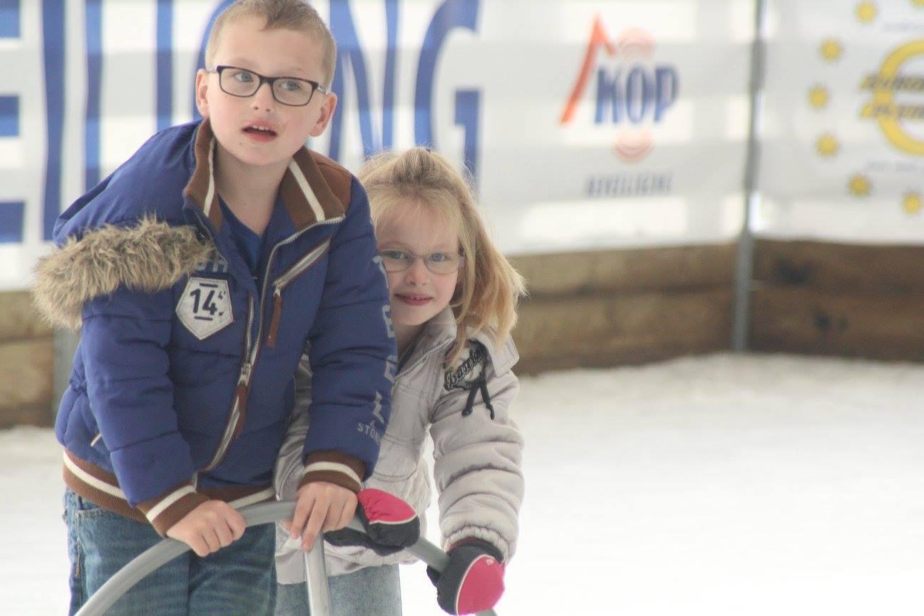 Op de schaats