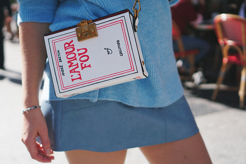 L'AMOUR FOU Gallimard edition Book Cover Bag