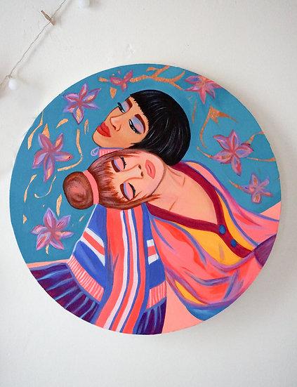DUO Round Painting
