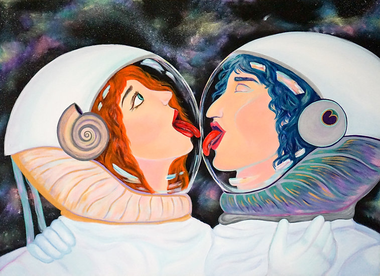 Austronauts amoureux