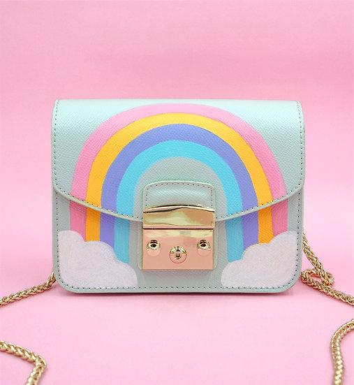 RAINBOW Mini Leather Bag