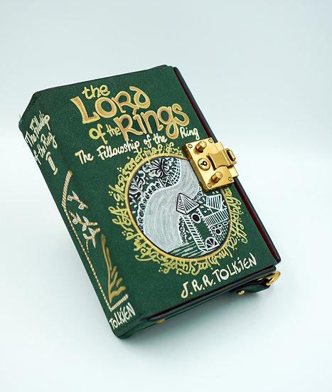THE LORD OF THE RINGS vol I Book Cover Bag