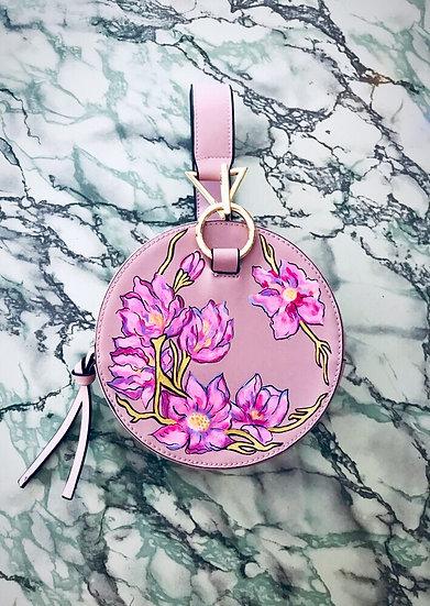 FLORAL MARBLE Handbag