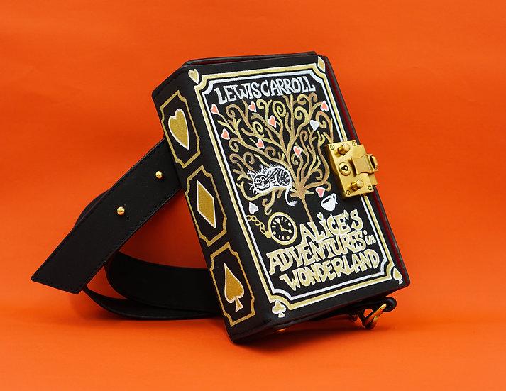 ALICE IN WONDERLAND Book Cover Bag