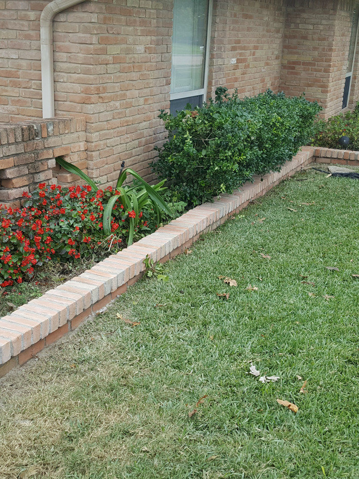 40 year old flower bed repaired