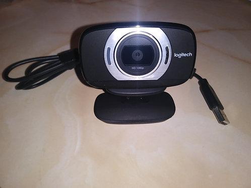 Logitech HD Laptop Webcam C615 with Fold-&-Go Design [360-Degree Swivel [1080p C
