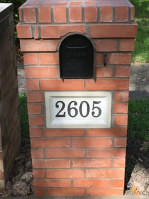 Flattop with address block