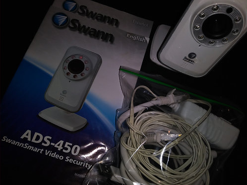 SwannSmart ADS-450 Wi-Fi Network Camera with Secure Cloud Storage