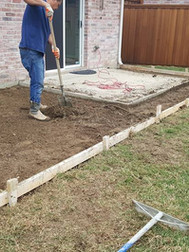 New patio extension almost ready to be poured.