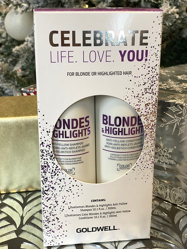 Blondes and highlights 10 oz shampoo and conditioner !