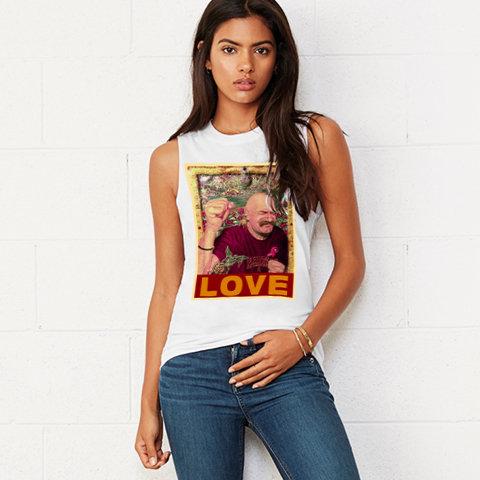 Tache Love Unisex Muscle Top