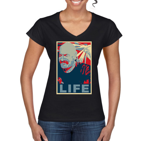 Tache Life Ladies V Neck T Shirt