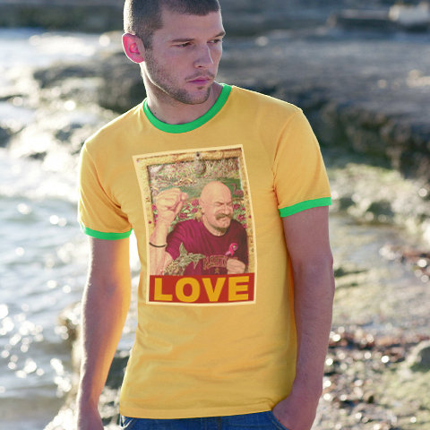 Tache Love Ringer T Shirt