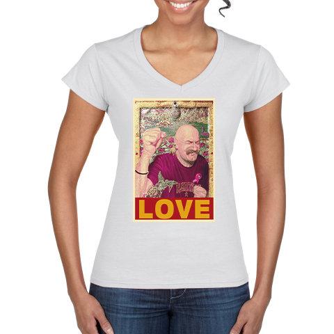 Tache Love Ladies V Neck T Shirt