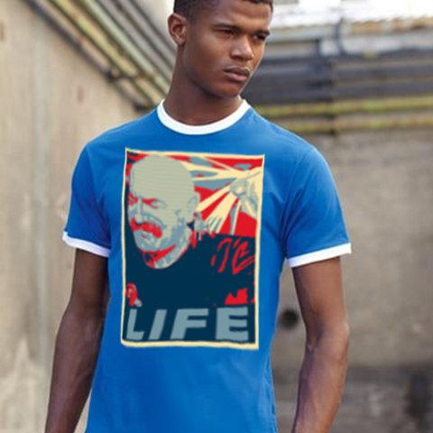 Tache Life Ringer T Shirt