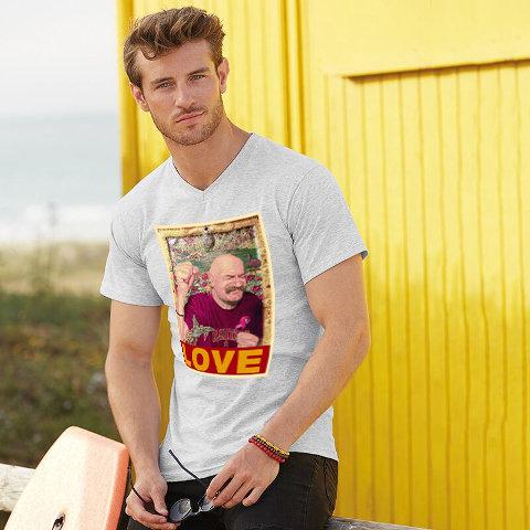 Tache Love V Neck T Shirt