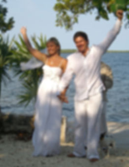 Wedding at Historic Shadow Point in Key Largo