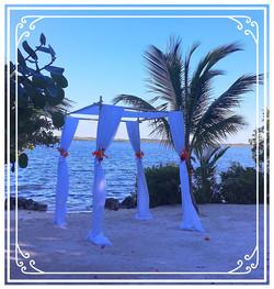 Beautiful Wedding Stand on Beach