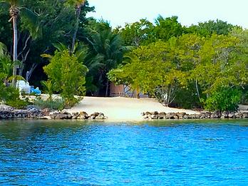 Family Vacation Beach Rental Historic House in Key Largo, Fl