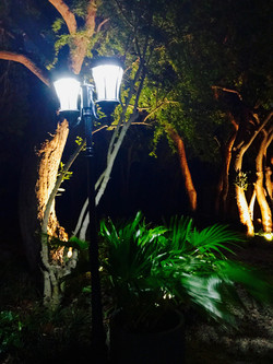 Evening lights for Weddings