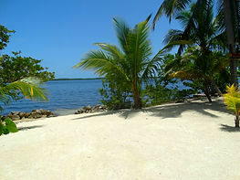 Private Beach for Wedding at Historic Shadow Point in Key Largo