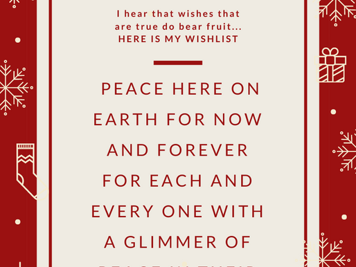 A peaceful, joyful Christmas...