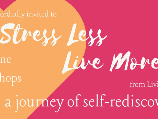 Stress Less Live More !