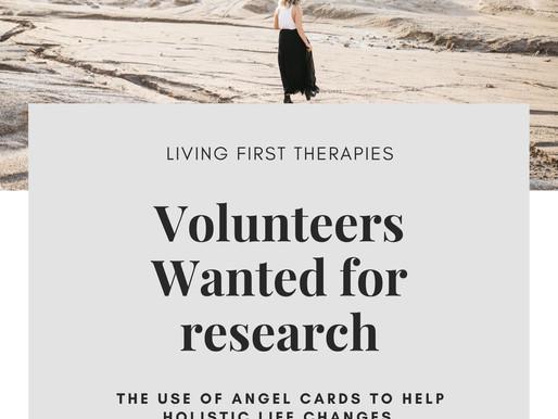 Volunteers Wanted !