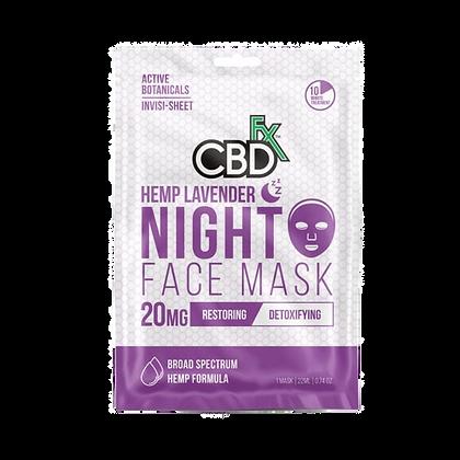 CBD Lavender Night Face Mask
