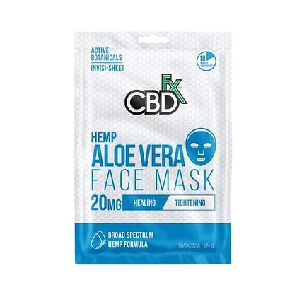 CBD Aloe Vera Night Face Mask