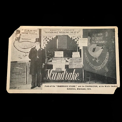 Mandrake and his Medicine Chest - Postcard