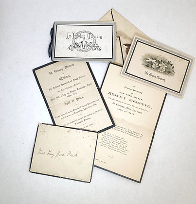 Collection of Momento Mori Cards