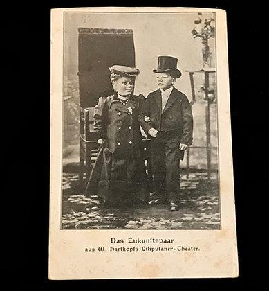 The Future Couple - Postcard