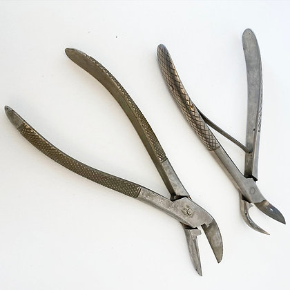 Clearance - Two Pairs of Mid Century Surgical Cutters
