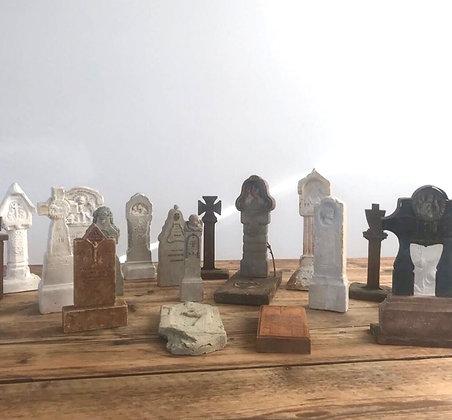 Miniature Gravestone Monuments