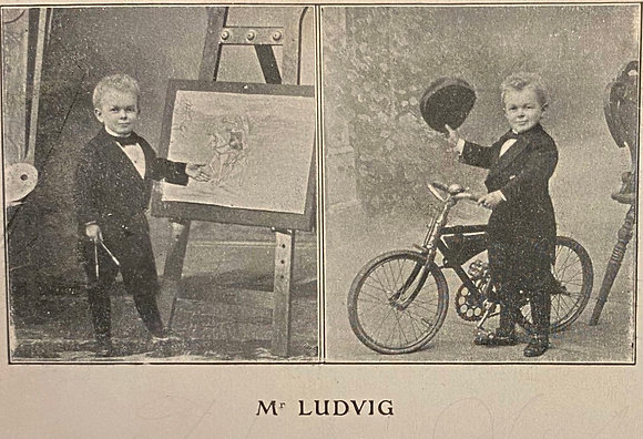 Mr Ludwig - Postcard