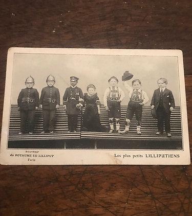Le plus petite Lilliputiens - Postcard