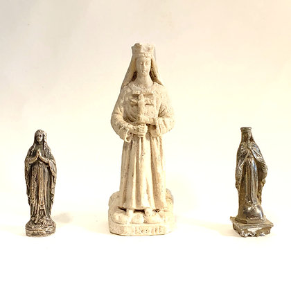 CLEARANCE - Small Metal/Plaster Religious Icons