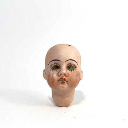 Small Porcelain Dolls Head - Circa 1900
