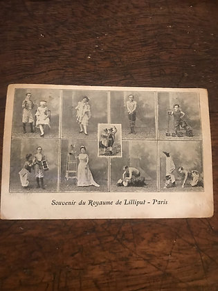 Souvenir  du Royaume de Lilliput - Paris Postcard
